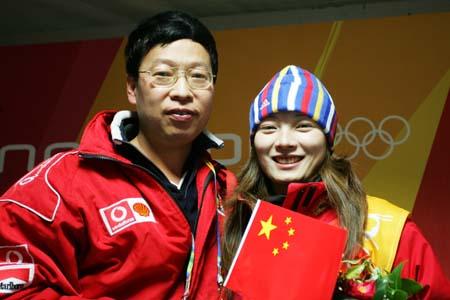 下届冲金牌再上新难度 还要搜狐专访李妮娜(图)