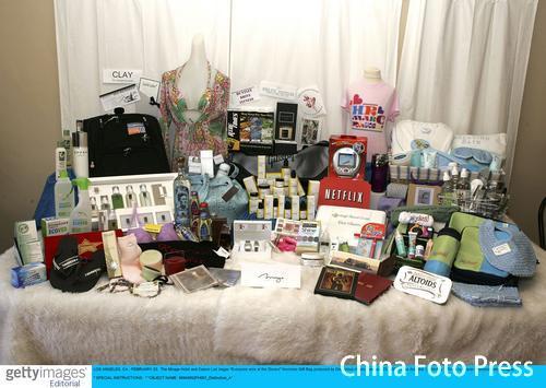 候选人为奥斯卡颁奖礼捐赠格式各样物品(图)