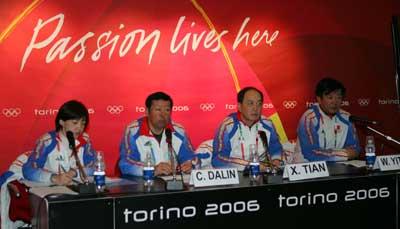 图文:中国代表团冬奥总结会 副团长肖天参加