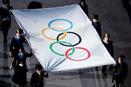 庄严的奥林匹克旗