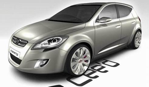 [日内瓦车展]起亚Cee'd概念车,寻找未来