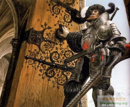 坚毅与浪漫的化身 中古骑士全接触
