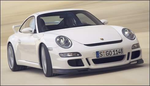 [日内瓦车展]纯种跑车:2007 保时捷GT3