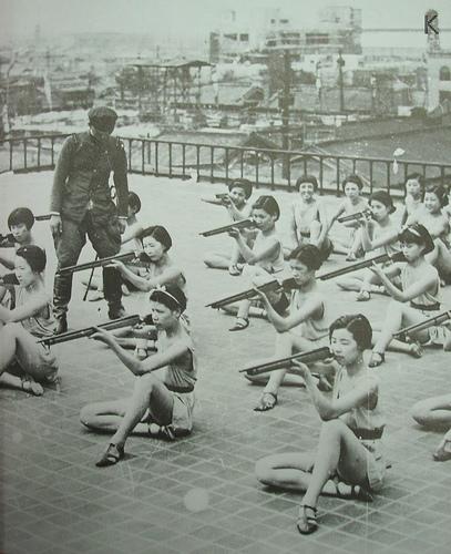 罪恶之花 二战时期狂热的日本妇女