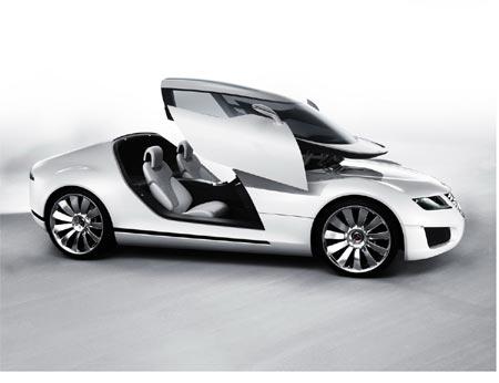 萨博Saab Aero X概念车闪耀日内瓦(图)