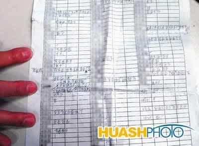 记者直击医院黑幕 当场发现写有医生姓名的红包(组图)