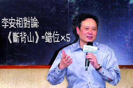 南都周刊专访李安:对于同性恋 中国人更放松