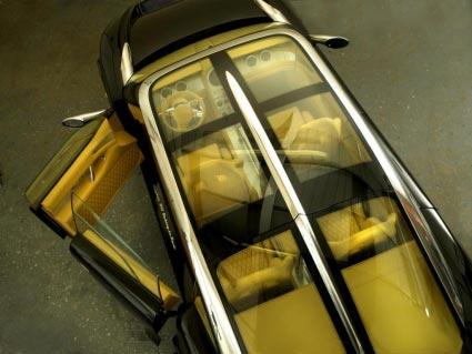 世爵首推 SSUV亮相日内瓦国际汽车展(图)