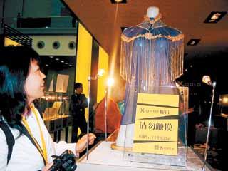 香港国际黄金珠宝玉石展:珠光宝气收眼底(图)