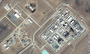 伊朗核设施分布图