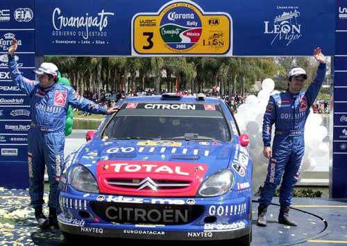 WRC墨西哥落幕:勒布迎来赛季首胜 索博格第二