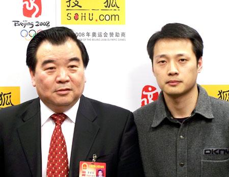 全国人大代表华英禽业集团董事长曹家富聊两会