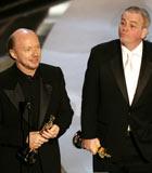 保罗和罗伯特凭《撞车》第78届奥斯卡获最佳原创剧本