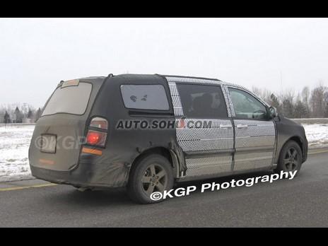 搜狐谍照小组报道 2008克莱斯勒旅行车