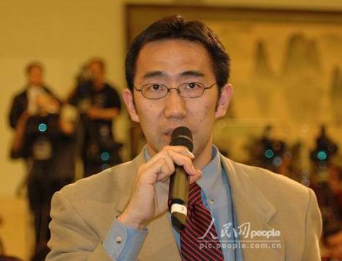 李肇星记者招待会直播:日本广播协会记者(图)
