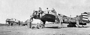 日本战俘舍身诱敌 培训中国飞行员