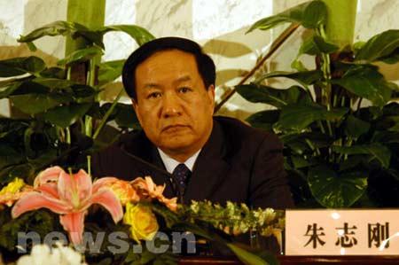 图文:财政部副部长朱志刚