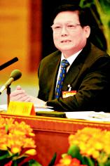 刘淇代表表示奥运立法工作开始启动(图)