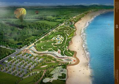 青岛金沙滩海水浴场东翼开发在即
