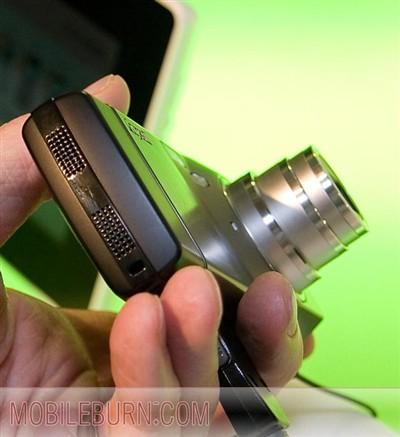 CeBIT06:千万像素镜头