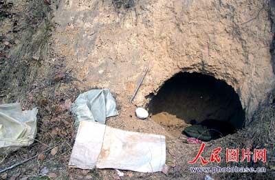 陕西矿主将炸断双脚的农民工两度遗弃野外(图)