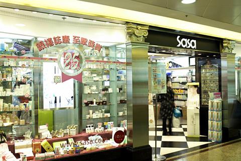 香港购买化妆品热力推荐:sasa化妆连锁店