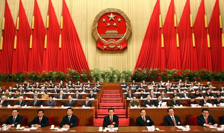 图文:十届全国人大四次会议在京闭幕
