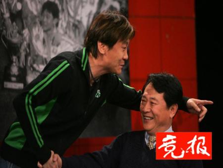10年老国安想再踢一场 高峰和恩师金志扬再握手