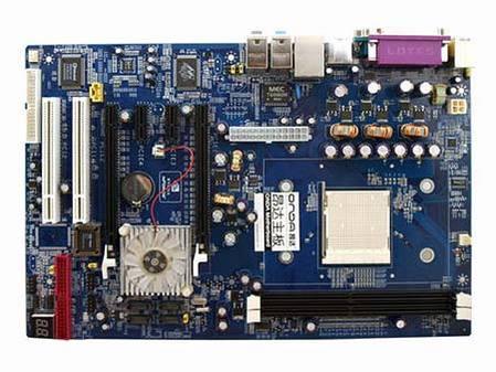 AM2接口的昂达nForce5主板