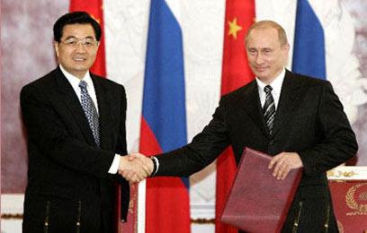 中俄关系达到史上最高水平 两个大国越走越近