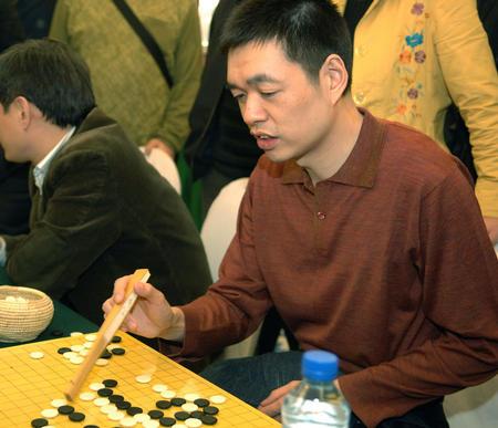 图文:中韩赛中国扳回一局 马晓春评点棋局