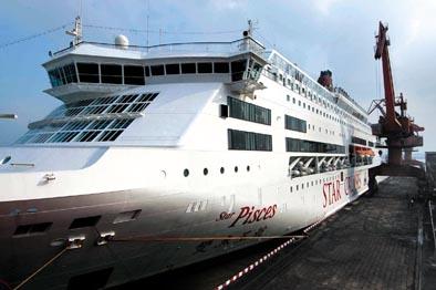 浪漫香港旅之乘丽星邮轮