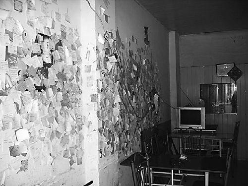 奶茶店里 心语墙 成为放飞心声交流的平台