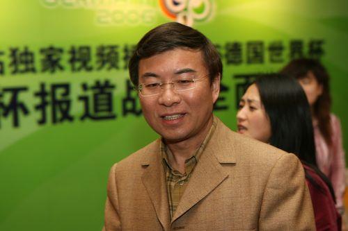 图文:搜狐世界杯网站上线 著名主持人韩乔生