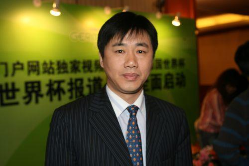 图文:搜狐世界杯网站上线 著名主持人陶伟