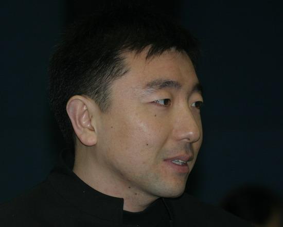 图文:体坛风云人物颁奖举行 杨凌