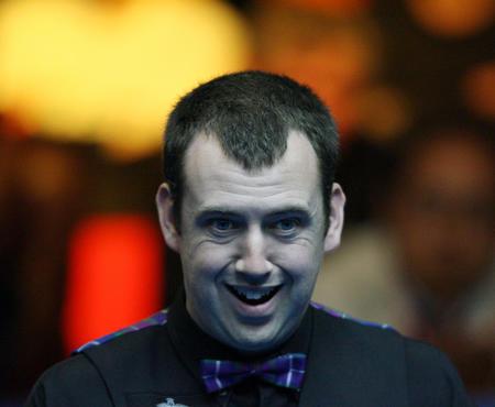 图文:中国公开赛半决赛 威尔士选手威廉姆斯