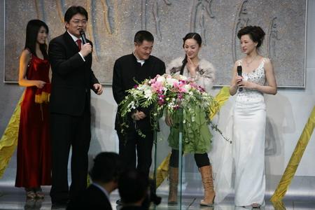 图文:CCTV体坛风云人物颁奖 赵本山提名