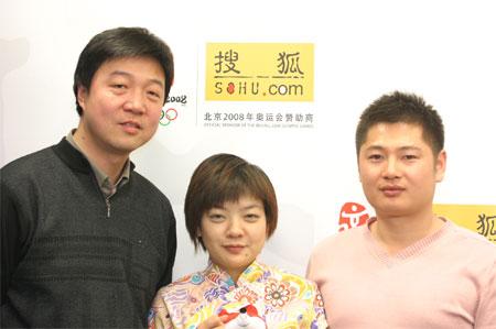 《CCTV体坛风云人物》制片人张卫做客搜狐