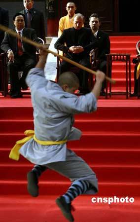 释永信方丈讲述普京访少林寺 曾准备和普京过招