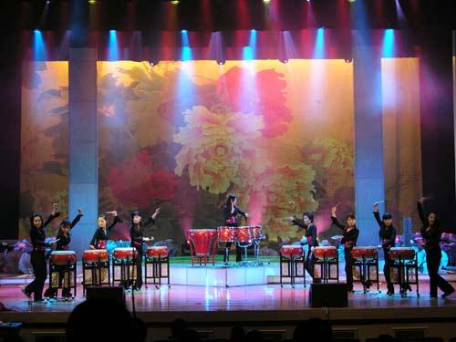 北京歌舞团精彩图片欣赏--打击乐