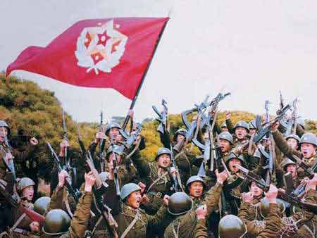 美韩举行联合军演 金正日一周6次视察部队(图)