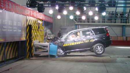 哈弗碰撞达到EuroNCAP四星级安全标准(图)