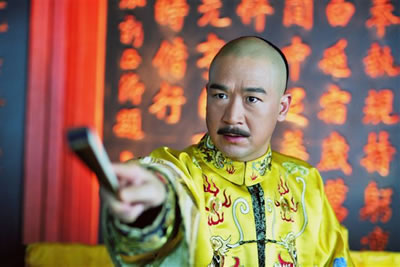 《少年嘉庆》张默不惧与父亲张国立同台飙戏