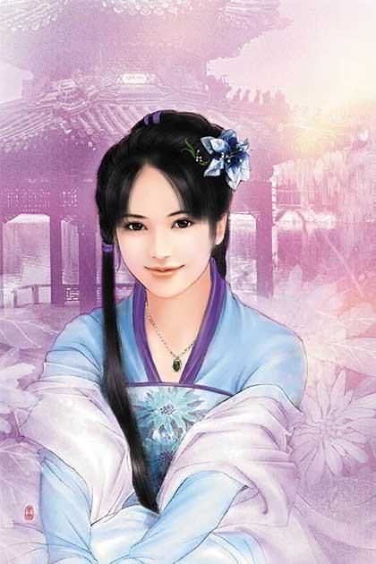 经典手绘:中国古代绝色美女欣赏-搜狐数码天下