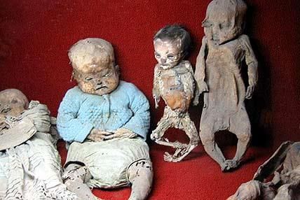 天命夭折的古尸 千年不朽的婴孩[组图]