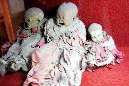 天命夭折的古尸千年不朽的婴孩[组图]-灌水乐
