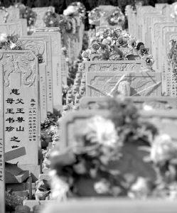 丧葬 最后一次生活礼仪(组图)