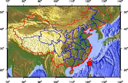 台湾东部傍晚发生6.4级地震 三分钟后4.7级余震