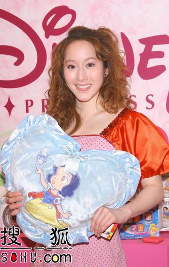 许慧欣当选白雪公主 自爆曾花五万买卡通产品